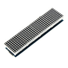 4 in 1 Dot Matrix MCU LED Anzeigemodule DIY Set fuer Arduino 5 PC Verbindun O5A6