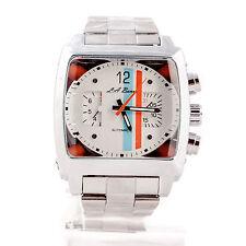 Reloj de pulsera para Hombre de Diseñador Cuadrado Automático de Acero Inoxidable TW Monaco Nuevo + Caja