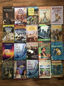Lot of 20 Chapter Children Young YOUTH RANDOM UNSORTED BOOKS MIX Exlib #19