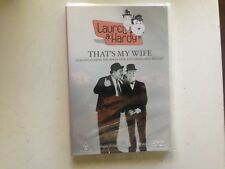 That's My Wife Laural & Hardy (DVD, 2006) new sealed stock Rockingham WA