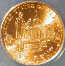 2009 LINCOLN CENT ANACS MS 67 RED, SATIN FINISH, PROFESSIONAL YEARS