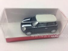 Herpa 1/87 HO Scale Mini Cooper S - Black with White Top 023627 NEW