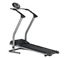 Body Sculpture Manual Treadmill-Grey/Black One Size