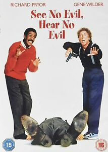 SEE NO EVIL HEAR NO EVIL DVD Richard Pryor Gene Wilder Region 4 New & Sealed