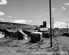Trailer & Homes in Leadville, Colorado - 1941 - Historic Photo Print