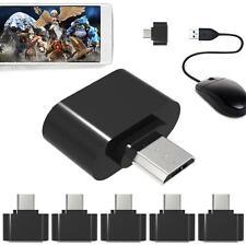 Conector Adaptador OTG USB 2.0 Hembra microUSB Macho On The Go SMARTPHONE TABLET