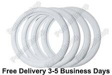 "ATLAS ''15"" White Wall Portawall Rubber ring insert trim 4 pcs VW BUG PRE.BEETLE"
