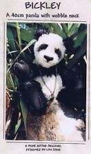 PANDA Bear Making Sewing PATTERN Jointed,  40 cm 16 inch, Bickley by Lyn Syme