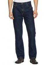 Men's Wrangler Texas Regular Fit Straight Legged Blue Jeans W40 L32