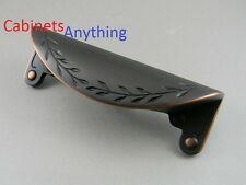 (25)  Amerock  Leaf Cup Pull BP1582-ORB Oil Rubbed Bronze - Inspirations
