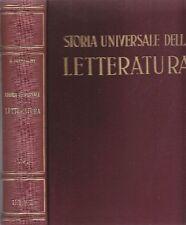 PRAMPOLINI Giacomo - Storia universale della letteratura VII