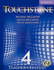 Touchstone Teacher's Edition 4 with Audio CD (Touchstone)-ExLibrary