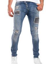 Hosengröße W33 Schlanke-Größen Herren-Jeans mit regular Länge