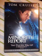 Minority Report (Dvd, 2003) 2 disc set