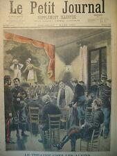 THEATRE SAVOIE LANSLEBOURG ALPES CRIME LIMOURS ASSISES LE PETIT JOURNAL 1897