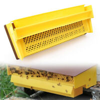 "15.35*7.95*3.94""Bee Pollen Trap Collector Fit Beekeeping Tools Beehive Yellow"