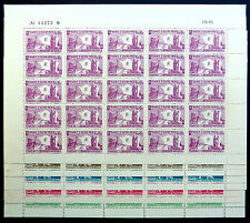 FRANCE FRENCH COLONIES 1943 National Liberation (5) SG82/6 in SEE BELOW NB1323