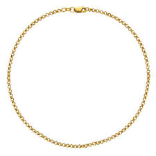 Anklet 10 Inches (Yellow and White) 10k Solid Gold Rolo Chain Ankle