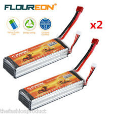 2x 3S 11.1V 4500mAh 30C LiPo RC Battery Deans for RC Helicopter Car Hobby Truggy