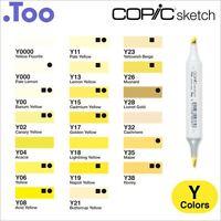 """Copic Sketch Marker Pen """"Y(Yellow) Color Series"""""""