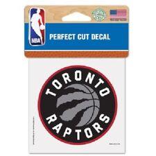 "Toronto Raptors 4"" x 4"" Logo Truck Car Auto Window Die Cut Decal Color New NBA"