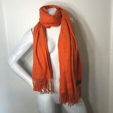 100% Cashmere Scarf Wrap Shawl fashion Orange Cashmere