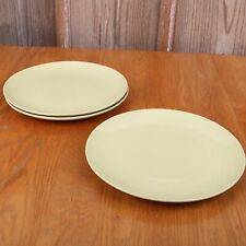 3 IKEA Light Green Dinner Plates 12011