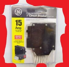 New Circuit Breaker GE THQL1115GF 15 Amp 1 Pole 120V GFCI THQL1115GFP