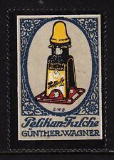 400265/ Reklamemarke - PELIKAN-Werke - Günther Wagner - HANNOVER