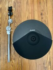 """Alesis 14"""" Triple Zone Cymbal NEW (2 Ports) DMPad w/28"""" Arm DM10 MKII Drum"""