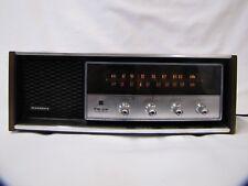 Vintage Radio Panasonic RE-7369 9 Transistor 6 Diode Radio w Wooden Housing