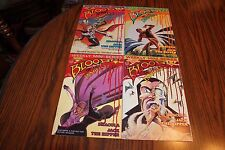 Blood Of The Innocent Set #1,2,3,4 1985 VF/NM 9.0 Warp Graphics See My Store