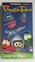 VeggieTales - Are You My Neighbor (VHS, 1998) Christian Video