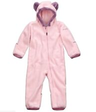 Baby Mädchen COLUMBIA Fleece Overall Kapuze 6-12Monate Anzug Gr 68 74 80 86 NEU