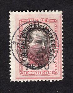 Peru 1894 stamp Mi#84 used CV=46€