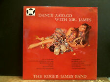 ROGER JAMES BAND  Dance A Go-Go With Mr James  LP    Funky Jazz Library style EX