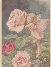 Rose Flower Fairy Counted Cross Stitch Chart No. 8-407/21