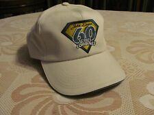 New John Deere 60 Series Combine Baseball Hat Harvesting Saftey Beige Cap Tan