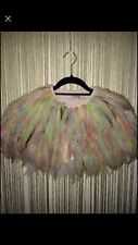 Vintage Kate Moss Topshop Feather Cape