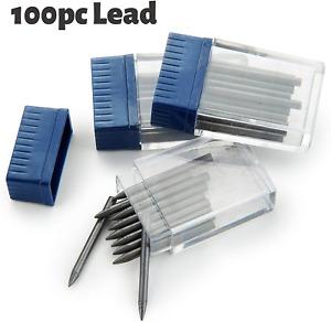 Mr. Pen- Compass Lead, 100Pcs Leads, 2Mm Lead, Refills Compass For Geometry, Lea