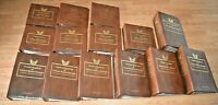 CatalinaStamps: Golden Replica of US Stamps ALBUMS ONLY, Lot of 14, Lot T