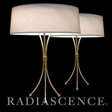 HANSEN TH ROBSJOHN GIBBINGS ATOMIC MODERN SPACE AGE TRIPOD BRASS TABLE LAMP 1950