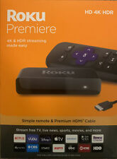Roku - Premiere 4K Streaming Media Player - NEW RELEASE (3920R)