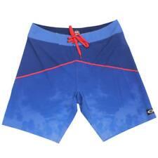 Oakley CRATER X Shorts Navy Red 32 M Mens Casual Boardshort Beach Swim Short