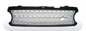 LAND ROVER RANGER ROVER L322 Supercharged 06-09 Front Grille Black&Silver