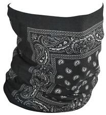Paisley Multi Functional Seamless Tube Neck Warmer Face Mask Motorcycle Biker