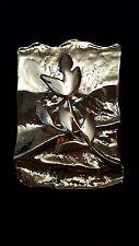 Hadassa 1990 Gold Plate Sterling Silver 925 Pendant/Brooch-23 gr.