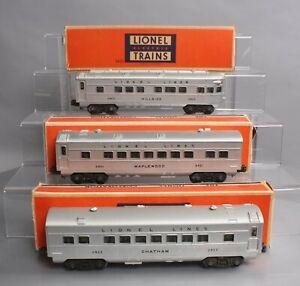Lionel 2421S Vintage O Lionel Lines 2421, 2422, 2423 3-Car Passenger Set