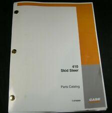 Case 410 Skid Steer Loader Tractor Parts Manual Catalog Book List Skidsteer Oem
