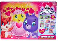 Hatchimals 8 Puzzle Pack Ages 3+ New Toy Girls Play Build Floor Lenticular Fun